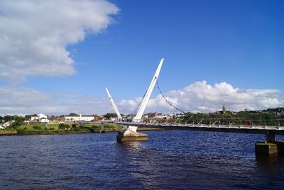 Picture of the Peace Bridge in Derry-Londonderry